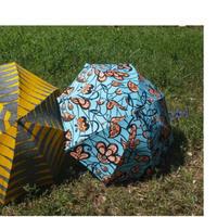 Petit africaine  アフリカンプリント 長かさ晴雨兼用