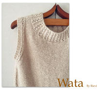 WATA     by Rie    糸と日本語印刷パターンのキット