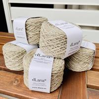 dLana*  Certified 100% local Merino Wool  50g玉  (6個パック)