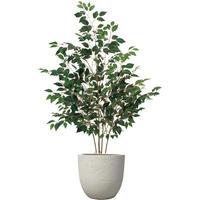 【EZ BARRIER GREEN 365】抗菌人工樹木 ファイカス H180㎝(陶器鉢付)