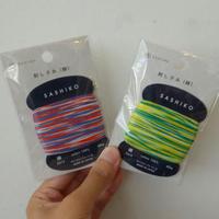 ダルマ刺し子糸 3色かすり