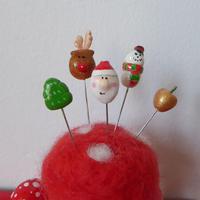 クリスマスまち針