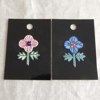 4枚花 ワッペン