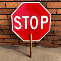 ビンテージ トラフィックサイン STOP