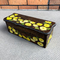 ビンテージ 収納棚 花柄 カリフォルニア・バターカップ