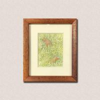 林 明日美作品 「夏のオリーブ畑」