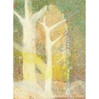 植村 遥作品「森」油彩画作品