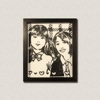 山田 ひかる作品 「プリクラ」