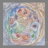 林 明日美作品 「見えない光 Ⅰ」水彩画作品