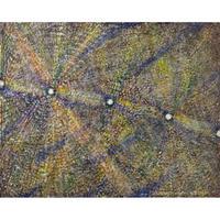植村 遥作品「星の根」油彩画作品