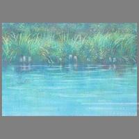 村上 紘一作品 「reflectionー2 」油彩画作品