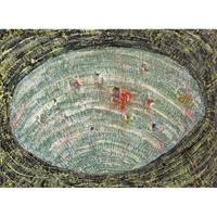 植村 遥作品「貝の眠り」油彩画作品
