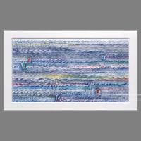 林 明日美作品 「海の時間」水彩画作品