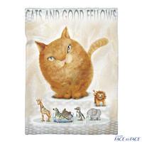 樹乃かに 作品 『CAT AND GOOD FELLOWS』 ブランケット