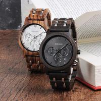 【BOBO BIRD】2色展開  木製腕時計 クォーツ 木の温もり 自然に優しい天然木 スタイリッシュ