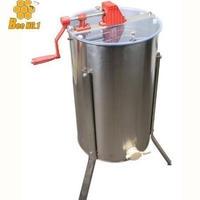 3枚式蜂蜜分離器 ステンレス 蜂蜂蜜抽出 ドラム養蜂農場 遠心分離器  (3 フレーム)