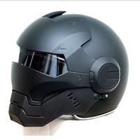 フルフェイス アイアンマンタイプ ヘルメット S,M,L,XL,XXL アメコミ ヒーロー