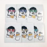 箔押しブリンブリンカード (Bling-Bling Card)