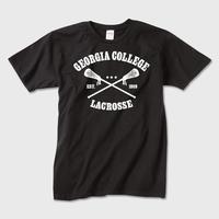 Lacrosse college (Black) / カレッジロゴTシャツ