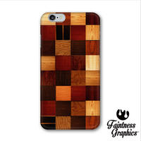 Wood block pattern ( スマートフォンケース )