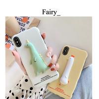 【Q1909011】ドラゴン&鳥 iphone case