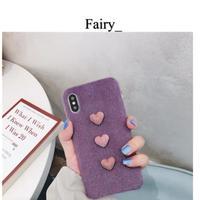 【L1811012】iPhoneケース可愛い❤️毛羽