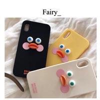 【Q1909008】チークダック iphone case