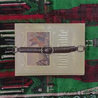 FAJ1339 vintage leather belt
