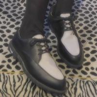 FAJ1273 vintage NIKE golf loafer shoes