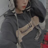 FAJ0921 vintage timberland hoodie