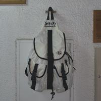 FAJ0948 vintage bitch backpack