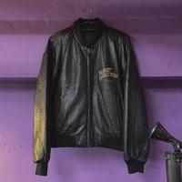 FAJ1088 vintage PLANET HOLLYWOOD reversible leather jk