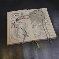 FAJ1333 vintage rosary n/c