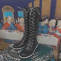 FAJ1326 vintage timberland long boots
