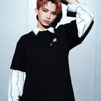 FAKE MOTION シンプルオリジナルロゴTシャツ  【ブラック】(F-002)