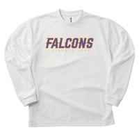 FALCONS LONG T-Shirt WHITE
