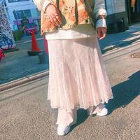 JOP1701099 ピンクレーススカート