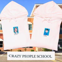 PA30727 CRAZY  PEOPLE  SCHOOLパーカー