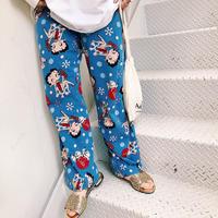 JOP1701171 Betty×cokeパジャマパンツ