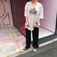 JOP1701124 アニマルプリントTシャツ