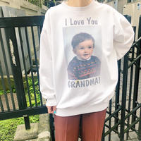 JOP1701130 I LOVE GRANDMA!スウェット