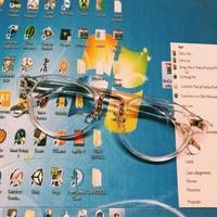 JOT 1800202 ノーマルクリアフレームメガネ