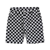 CHECKER SUNS SHORTS (BLACK) / Only M size