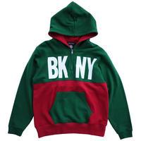 BKNY HALF ZIP (GREEN)