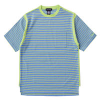 AS RIB BORDER TEE (BLUE)