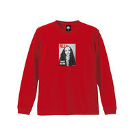 TRUST NO ONE LS TEE (RED)