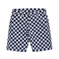 CHECKER SUNS SHORTS (NAVY)