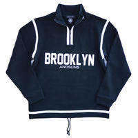 BROOKLYN HALF ZIP (BLACK)
