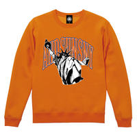 STATUE OF LIBERTY CREWNECK (ORANGE)