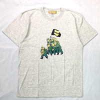 FAMOUS CLAN S/S TEE OATMEAL